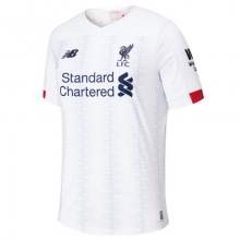 New Balance 930013 Kids' Liverpool  FC Away Junior SS Jersey No EPL Patch by New Balance