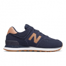 574 Woven Logo Women's 574 Shoes by New Balance in Fort Myers FL