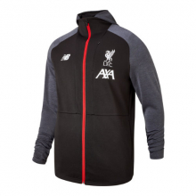 New Balance 931065 Men's Liverpool FC Managers Hoodie by New Balance