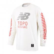 New Balance 93701 Men's TOPO X NB Long Sleeve Tee by New Balance