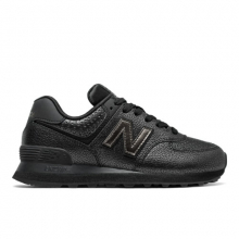 574 Worn Metallic Women's Classic Sneakers Shoes by New Balance