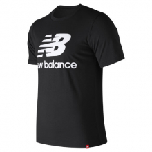 93605 Men's Essentials Relaxed fit Stacked Logo Tee by New Balance