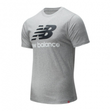Men's and Women's Essentials Stacked Logo Tee by New Balance in Lieusaint France