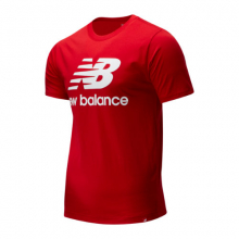 New Balance 01575 Men's Essentials Stacked Logo Tee by New Balance