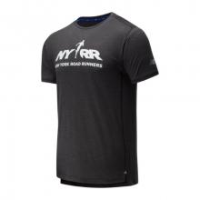 01235 Men's RFL Printed Impact Run Short Sleeve by New Balance