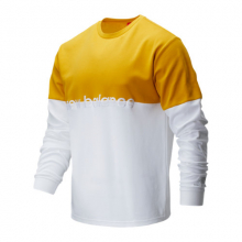 01507 Men's NB Athletics Pique Stripe Long Sleeve by New Balance