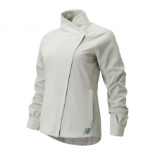 01262 Women's Q Speed Run Crew Jacket by New Balance in Rogers AR