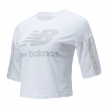 01505 Women's NB Athletics Short Sleeve Stacked Tee by New Balance