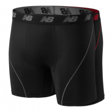 1091 Men's Mens Ice 2.0 6 Inch Boxer 2PK by New Balance
