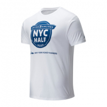 01619 Men's 2020 United Airlines Half Finisher Map Tee by New Balance