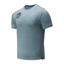 01234 Men's 2020 United Airlines Half Impact Run Short Sleeve by New Balance
