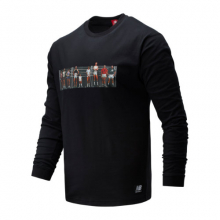 01519 Men's NB Athletics Archive Run Long Sleeve Tee by New Balance