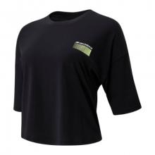 01525 Women's Sport Style Optiks Short Sleeve Boxy Tee by New Balance