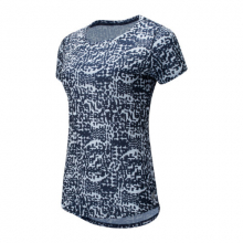 New Balance 91137 Women's Printed Accelerate Short Sleeve v2 by New Balance