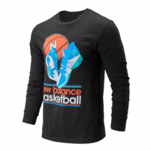 01673 Men's NB Basketball Wild Long Sleeve by New Balance