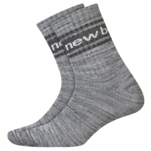 Men's and Women's Lifestyle Midcrew Socks 2 Pair by New Balance