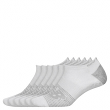 Men's and Women's Lightweight No Show Socks 6 Pack by New Balance