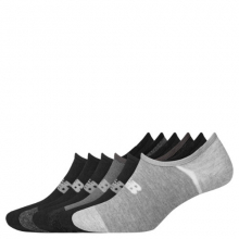 Men's and Women's No Show Liner Socks 6 Pack by New Balance