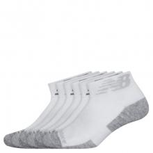 Men's and Women's Performance Cushion Quarter Socks 6 Pack