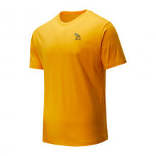01549 Men's NB Athletics Tropic Pineapple Tee by New Balance