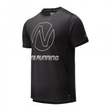 01235 Men's Printed Impact Run Short Sleeve by New Balance