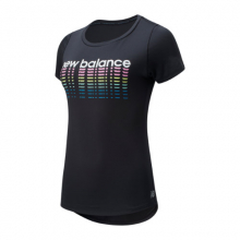 91137 Women's Printed Accelerate Short Sleeve  v2 by New Balance