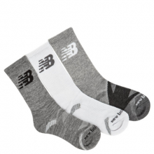 New Balance  Men's and Women's Performance Cushion Crew Socks 3 Pack by New Balance