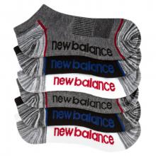 03576 Kids' Kids Lightweight No Show Socks 6 Pack by New Balance