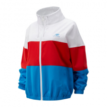 01600 Women's Boston NB Athletics Full Zip Windbreaker by New Balance