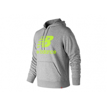 91547 Men's Essentials Stacked Logo Po Hoodie by New Balance in Carle Place NY
