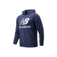 91547 Men's Essentials Stacked Logo Po Hoodie by New Balance in Naperville IL