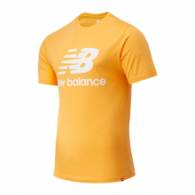 Men's and Women's Essentials Stacked Logo Tee by New Balance