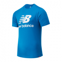 01575 Men's Essentials Stacked Logo Tee by New Balance in Tigard OR