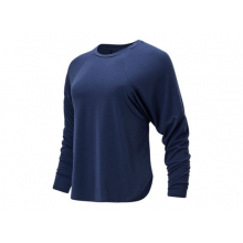 01452 Women's Evolve Side Slit Long Sleeve by New Balance in Highland Park IL