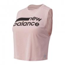 01162 Women's Relentless Crop Novelty Tank by New Balance