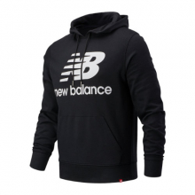 03558 Men's NB Essentials Stacked Logo Po Hoodie by New Balance in Homestead PA