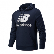 03558 Men's NB Essentials Stacked Logo Po Hoodie by New Balance in Rockwall TX