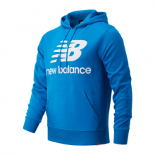03558 Men's NB Essentials Stacked Logo Po Hoodie by New Balance in Tigard OR
