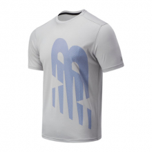 New Balance 03204 Men's Printed Accelerate Short Sleeve by New Balance