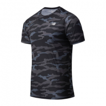 03204 Men's Printed Accelerate Short Sleeve by New Balance in Highland Park IL