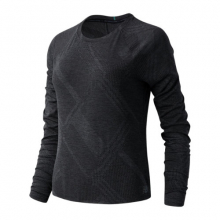 03259 Women's Q Speed Fuel Jacquard Long Sleeve by New Balance