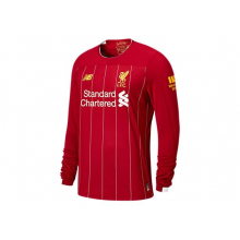 Liverpool FC Home Junior LS Jersey