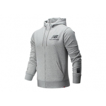London Marathon Essentials Stacked Logo FZ Hoodie