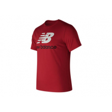 Essentials Stacked Logo Tee by New Balance