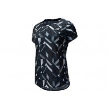 91137 Women's Printed Accelerate Short Sleeve  v2
