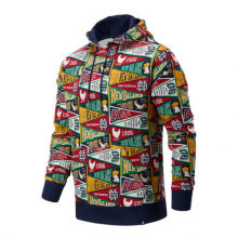 New Balance 03544 Men's NB Athletics Collegiate AOP Hoodie