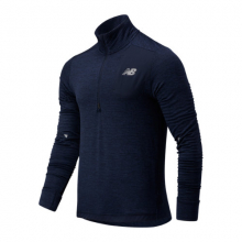 03255 Men's Impact Run Grid Back Half Zip by New Balance in The Woodlands TX