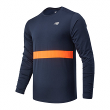 New Balance 03208 Men's Striped Accelerate Long Sleeve by New Balance