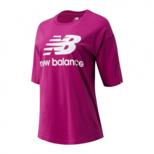 03519 Women's NB Essentials Stacked Logo Tee by New Balance in Lieusaint France
