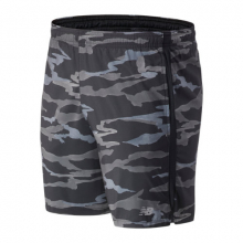 93190 Men's Printed Accelerate 7 In Short by New Balance in Highland Park IL